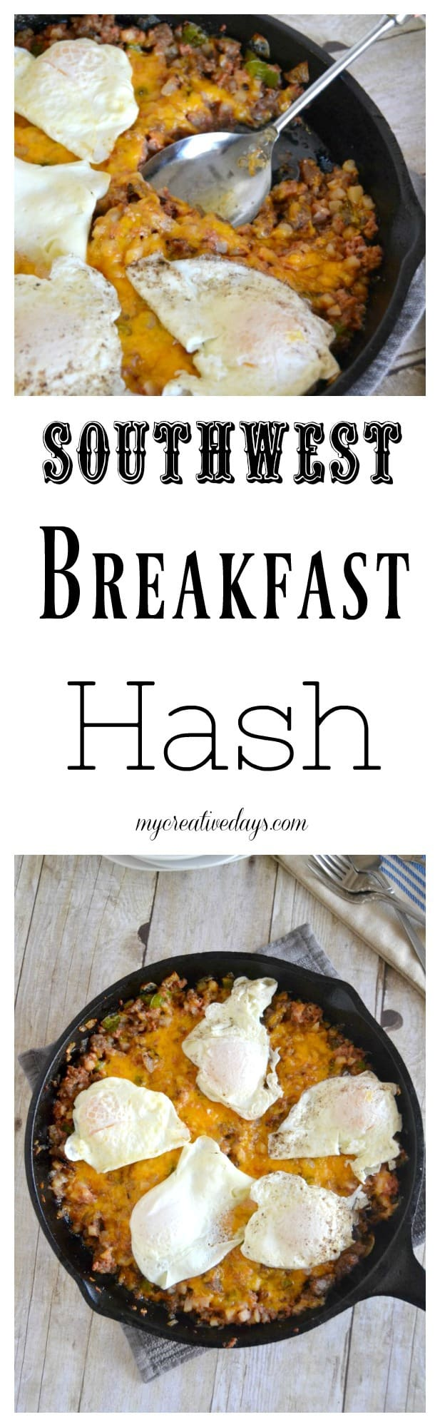 This Southwest Breakfast Hash Recipe Will Be A Family Favorite