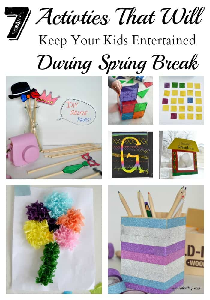 7 Spring Break Activities To Keep Your Kids Entertained - Looking to entertain the kids during spring break? These 7 Spring Break Activities To Keep Your Kids Entertained will keep them busy and happy while they are home.