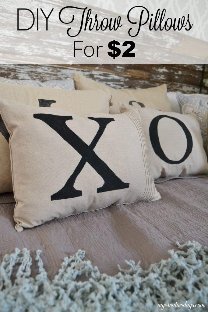 DIY Throw Pillows For USD2 - My Creative Days