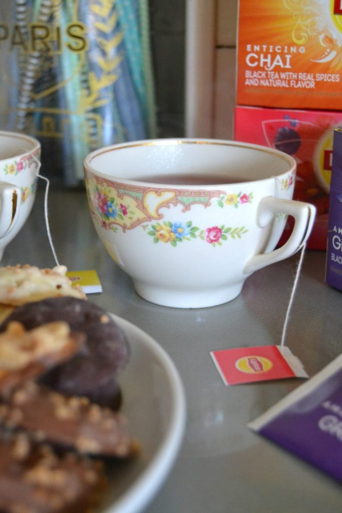 Drinking tea is becoming more and more popular. Set up an easy tea bar to test teas to please every palate.