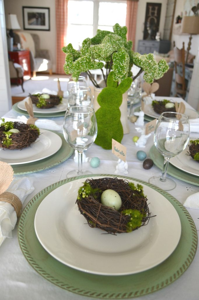 Spring Party Tablescape