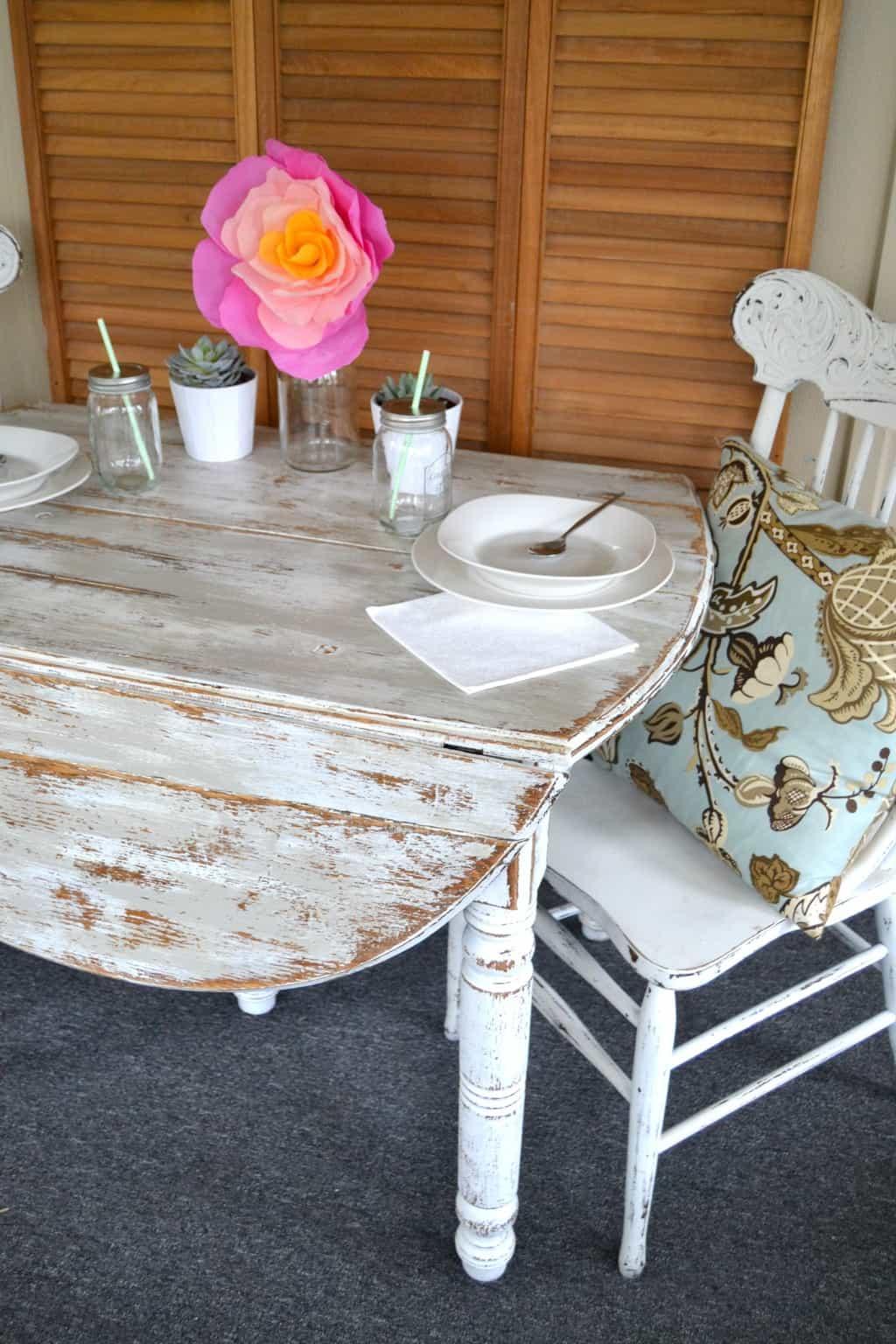 DIY Painted Farmhouse Table