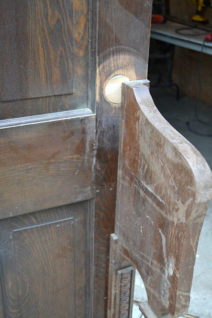 Upcycled Door