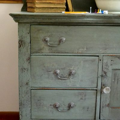 Wooden Chest Of Drawers Makeover