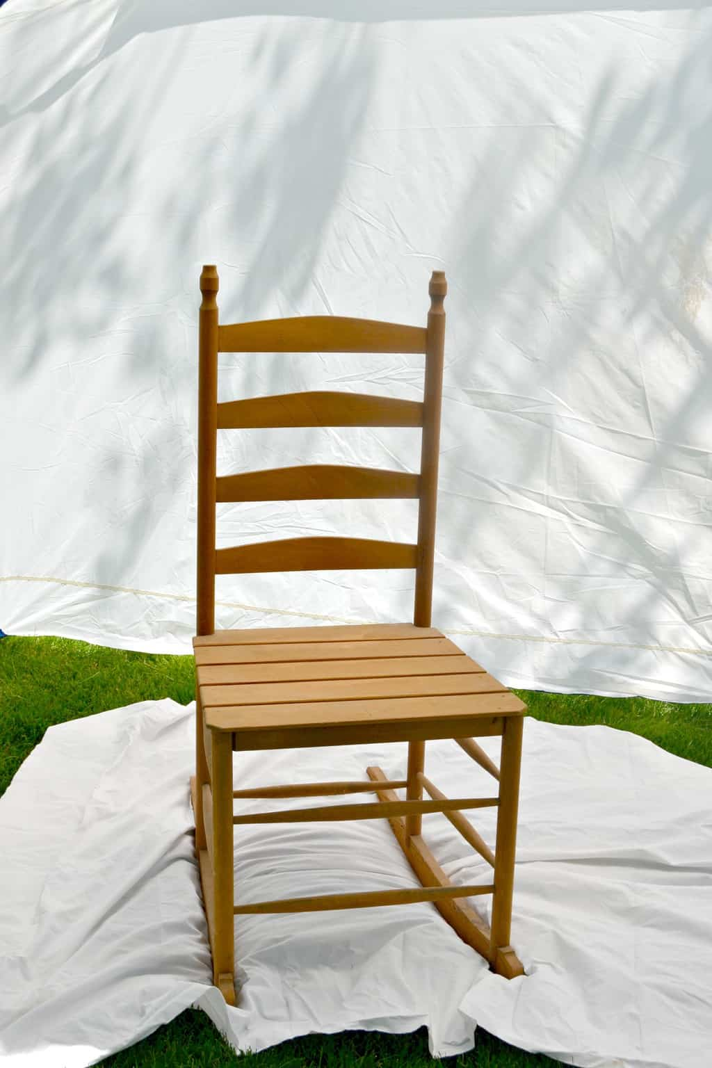 Amazing photo of The Easy Way To Paint Homemade Rocking Chairs My Creative Days with #446404 color and 2025x3038 pixels