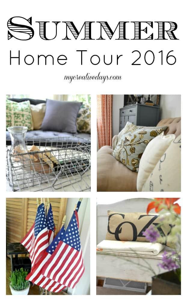 Summer Home Tour 2016