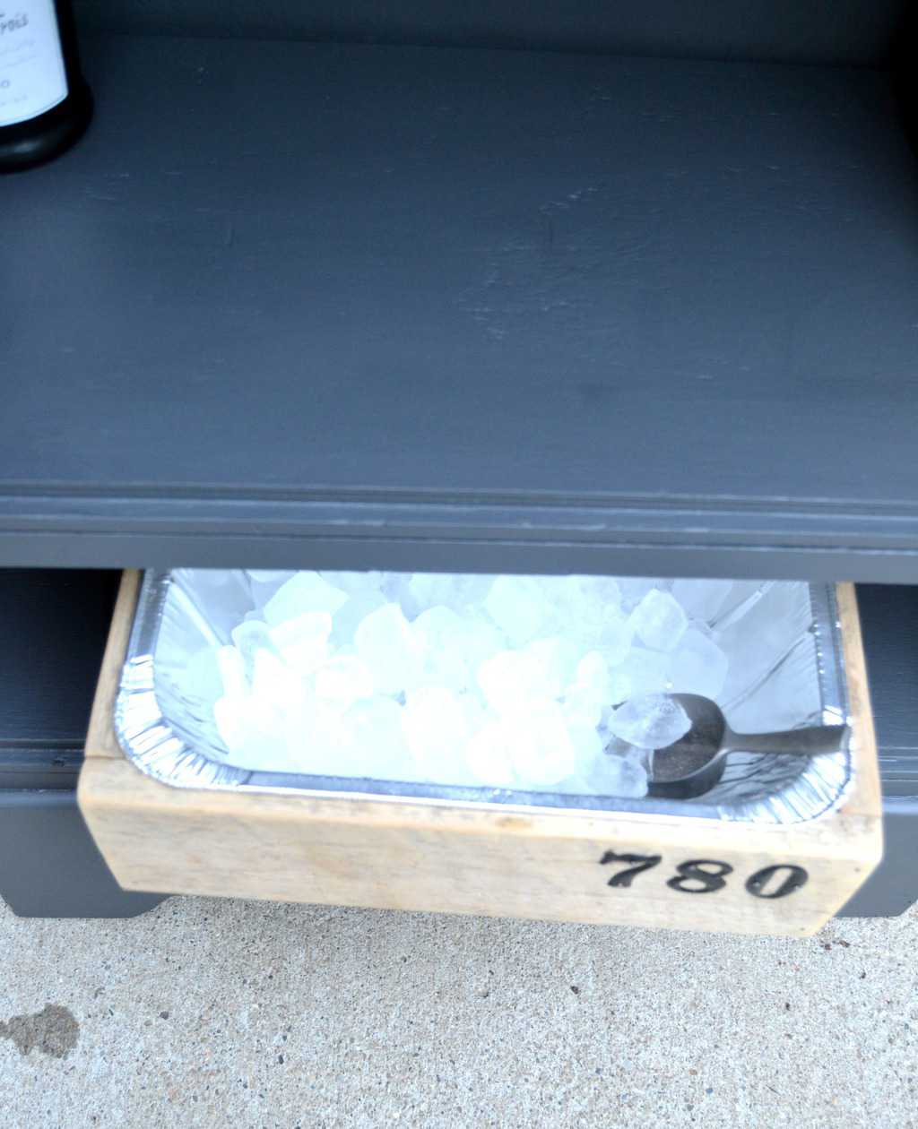 pin this how to turn a curbside dresser into a bar