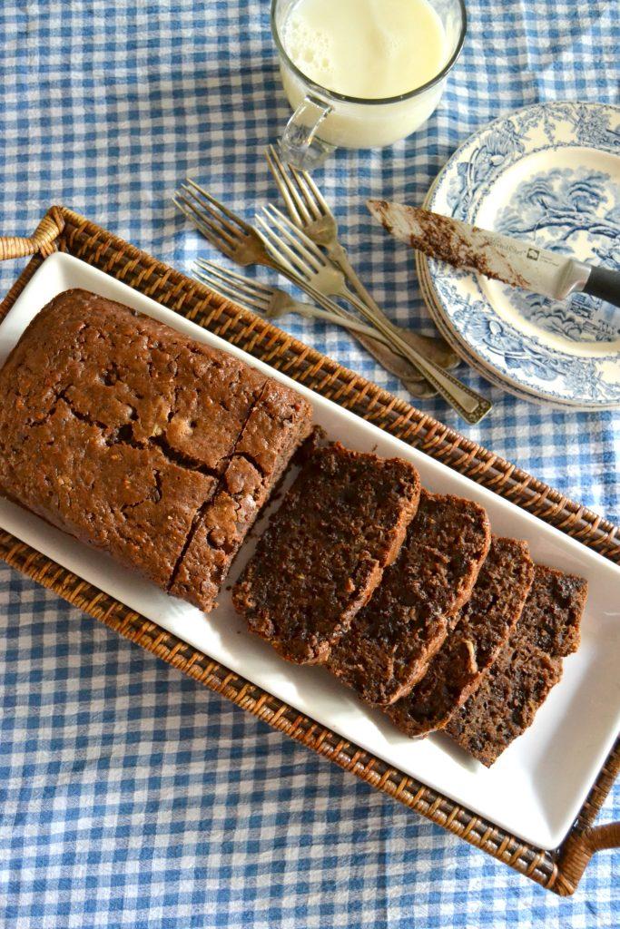 Easy Chocolate Zucchini Bread
