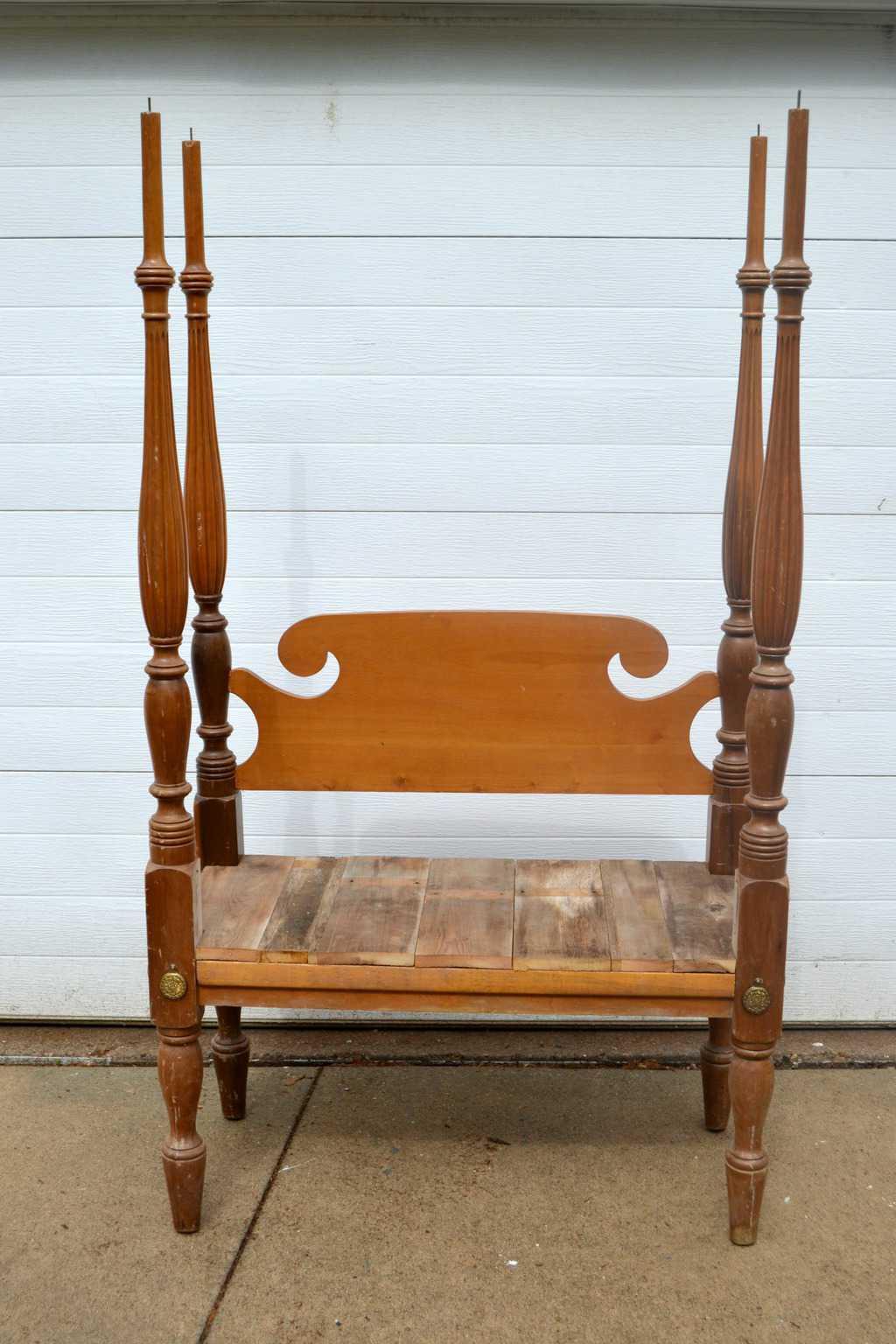 Diy Bedroom Bench diy bed frame bench - my creative days
