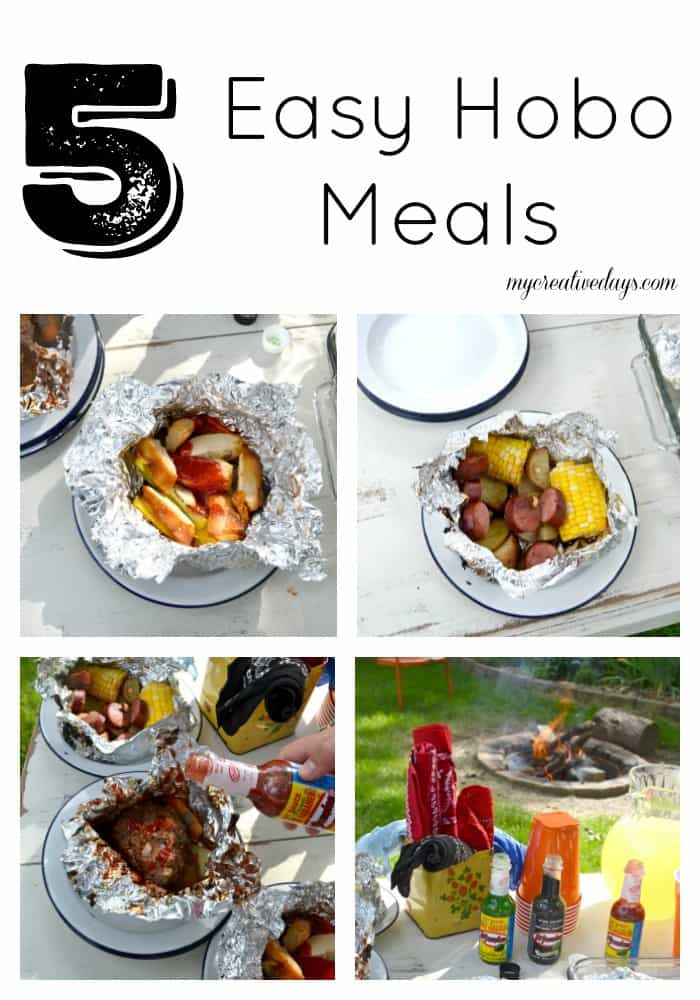 5 easy hobo dinner ideas that are great for eating outdoors