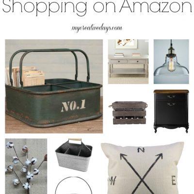 Farmhouse Decor Shopping On Amazon