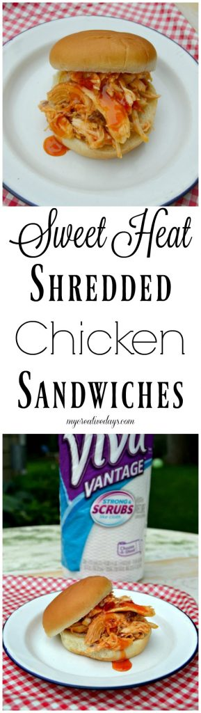 If you are looking for an easy chicken recipe to make, click over to get this shredded chicken sandwiches recipes that has a little sweet heat in them. They are a crowd pleaser!