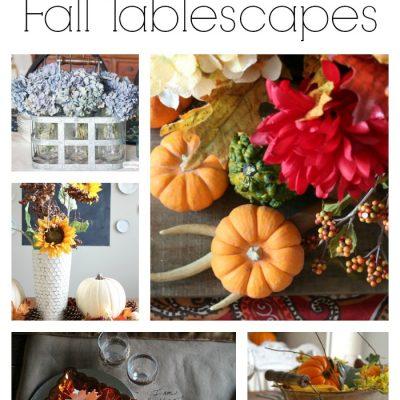 20 Fall Table Decor Ideas