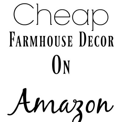 Cheap Farmhouse Decor On Amazon