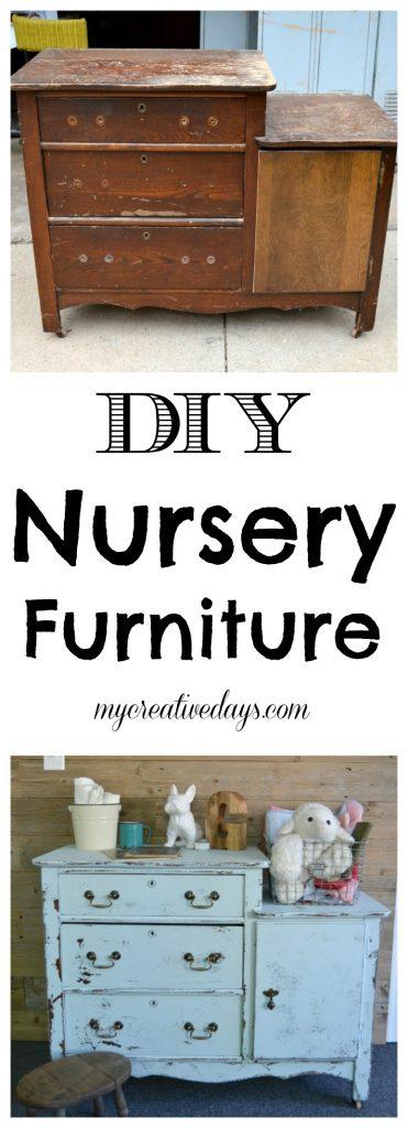 DIY Nursery Furniture Plans