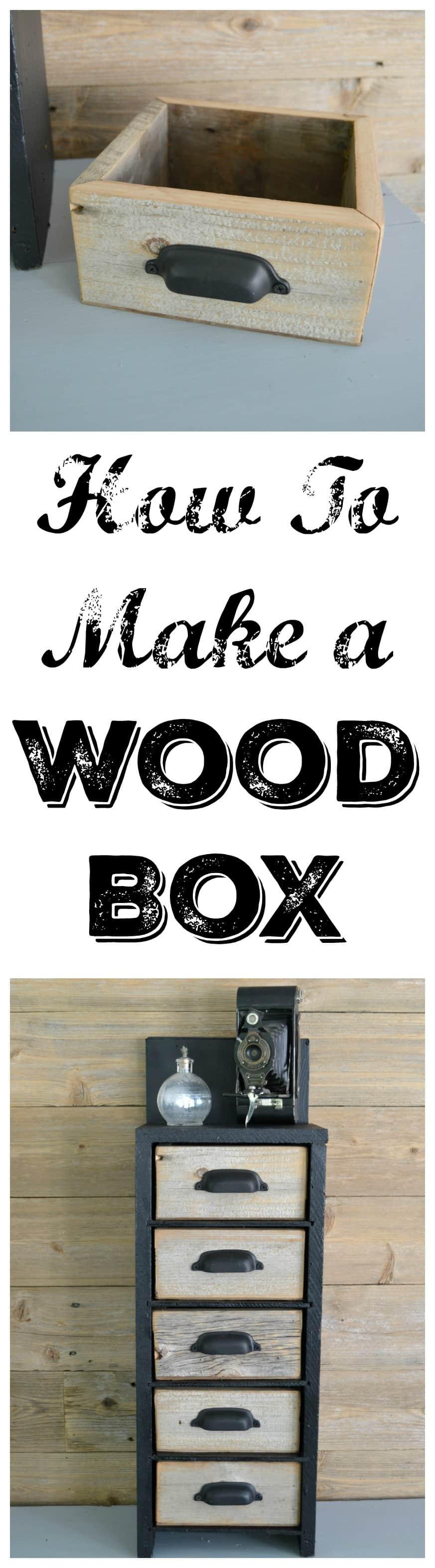 Easy To Make Wood Box