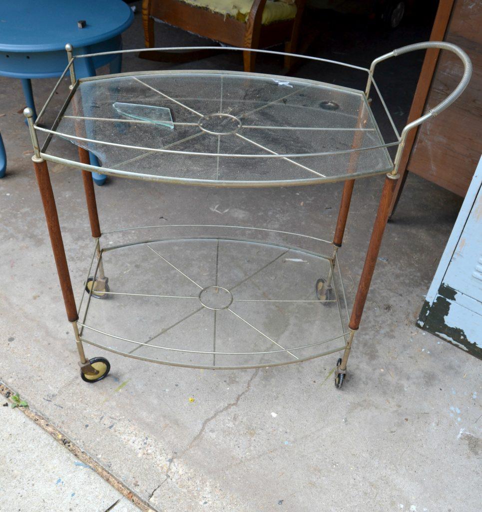 DIY Coffee Shop Bar Cart