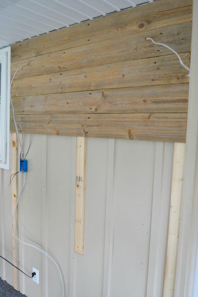 Farmhouse DIY Porch Lighting My Creative Days