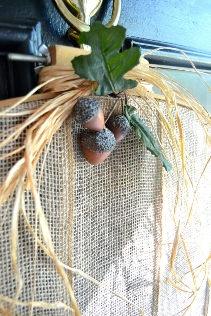 Simple DIY Fall Wreath