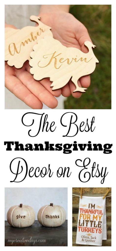 The Best Thanksgiving Decor On Etsy My Creative Days mycreativedays.com