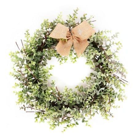 11 Farmhouse Christmas Wreaths Under $30