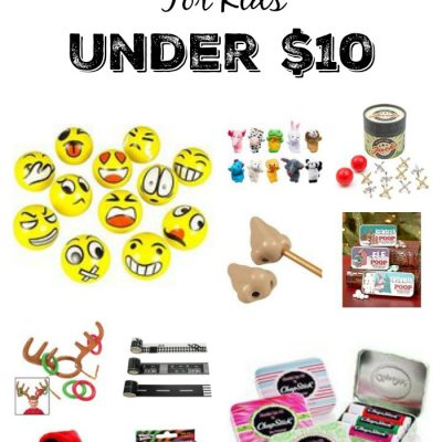 30 Stocking Stuffers For Kids Under $10