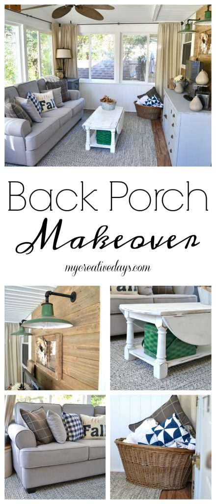 Back Porch Reveal