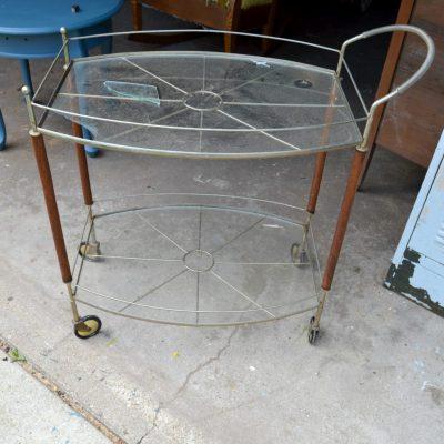 DIY Serving Cart Tutorial