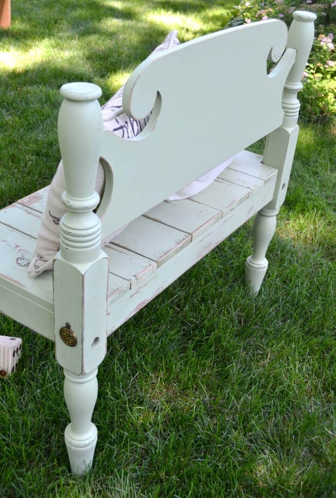 Astounding Diy Entryway Bench Made From A Repurposed Headboard Footboard Gamerscity Chair Design For Home Gamerscityorg