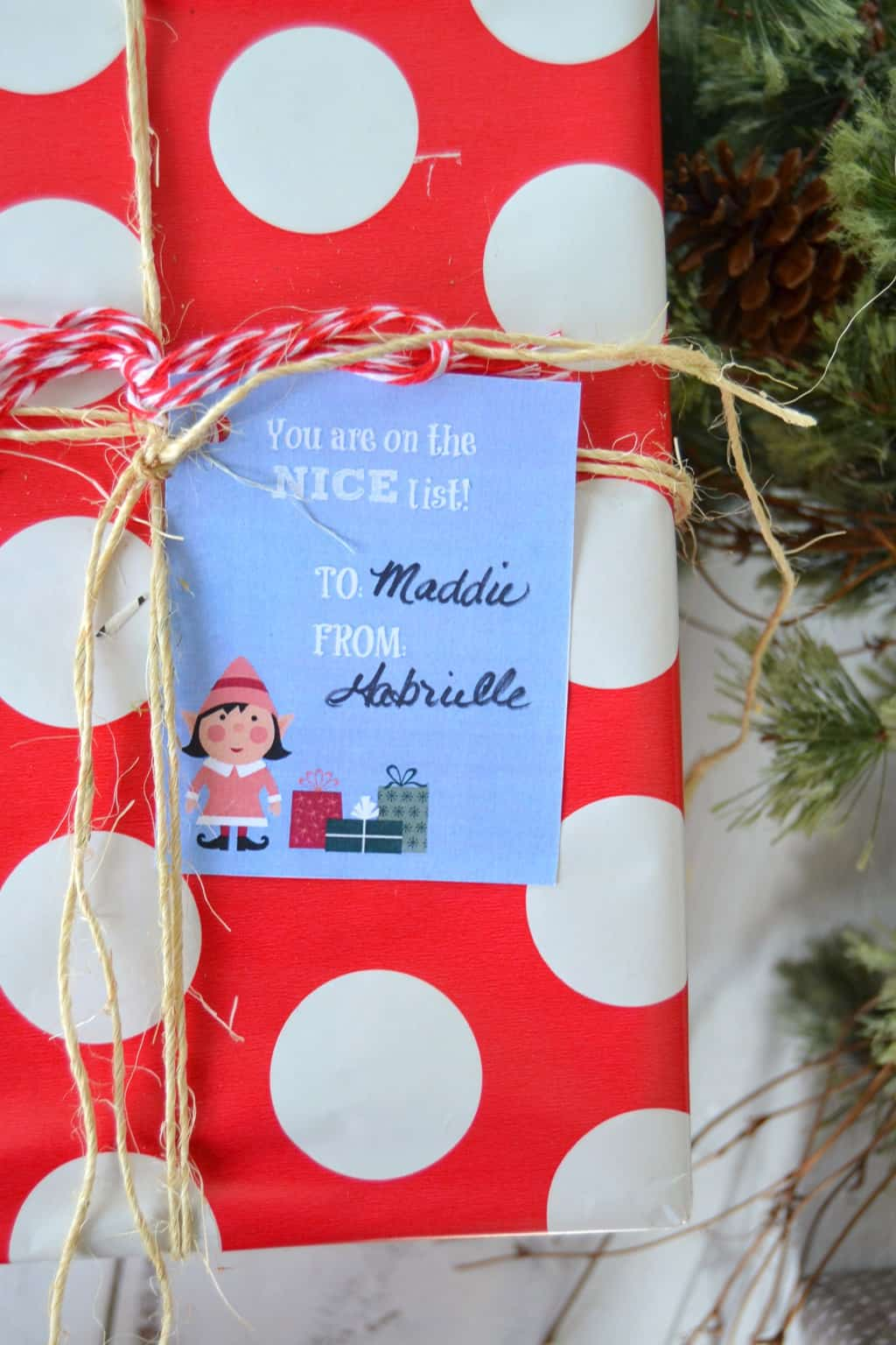 Free Printable Christmas Gift Tags That Will Add