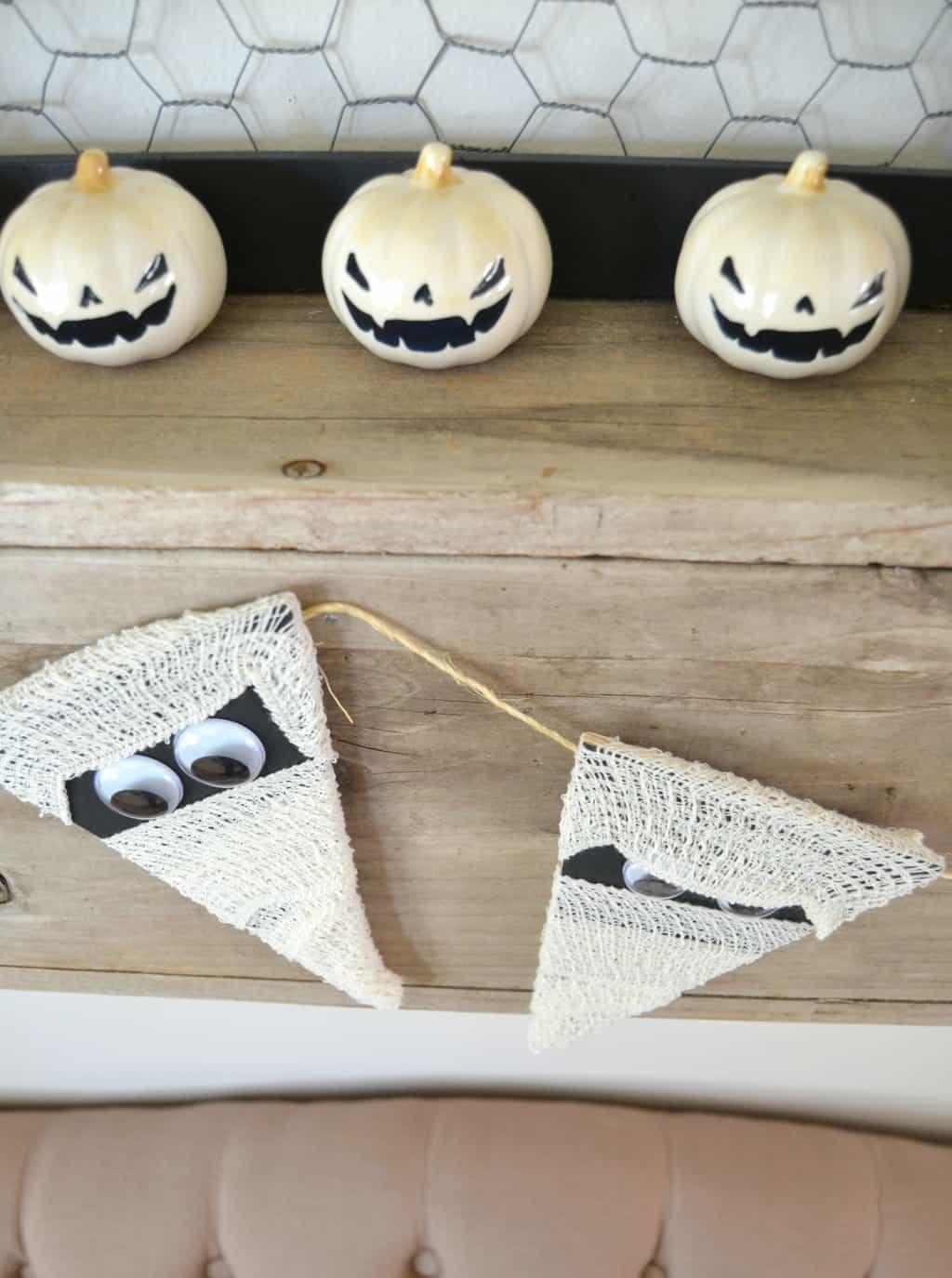 pin this halloween crafts - Halloween Mummy Crafts