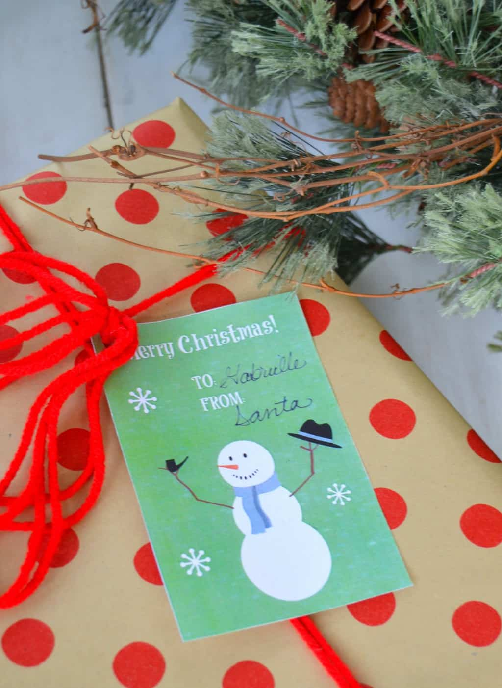 FREE Printable Christmas Gift Tags That Will Add Personality To Your ...