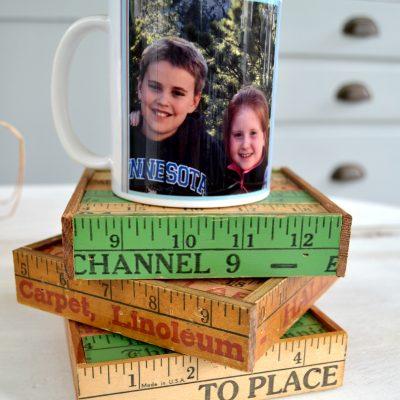 Christmas Gift: DIY Coasters & $10 Gift Idea