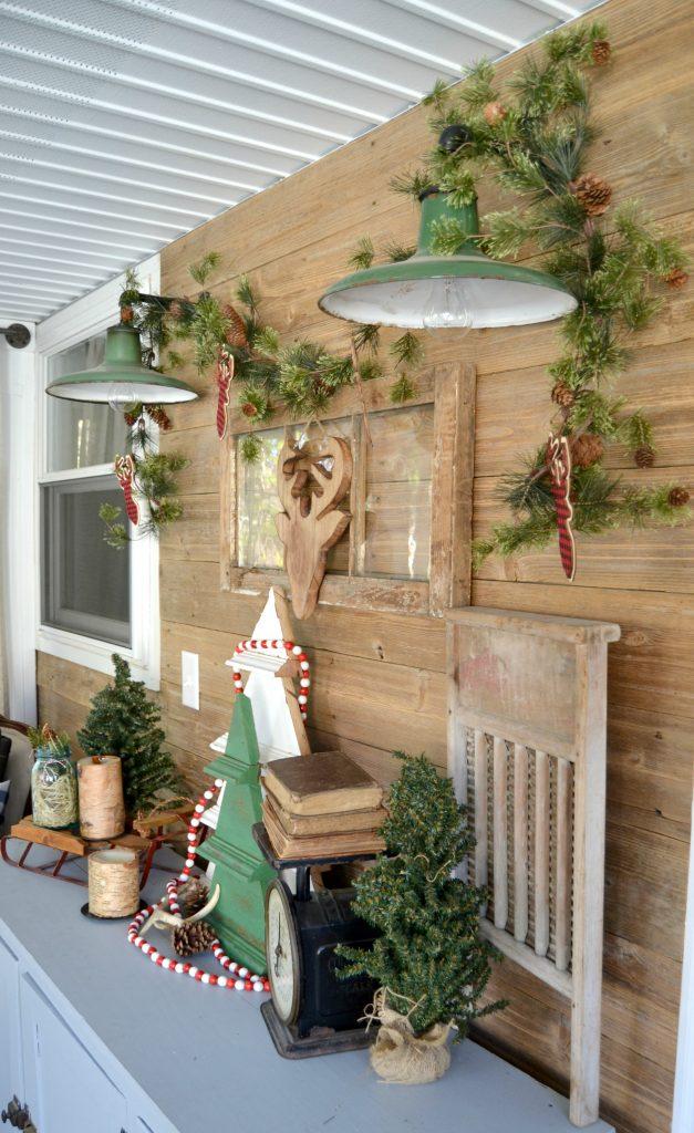 DIY Rustic Christmas Tree Decoration