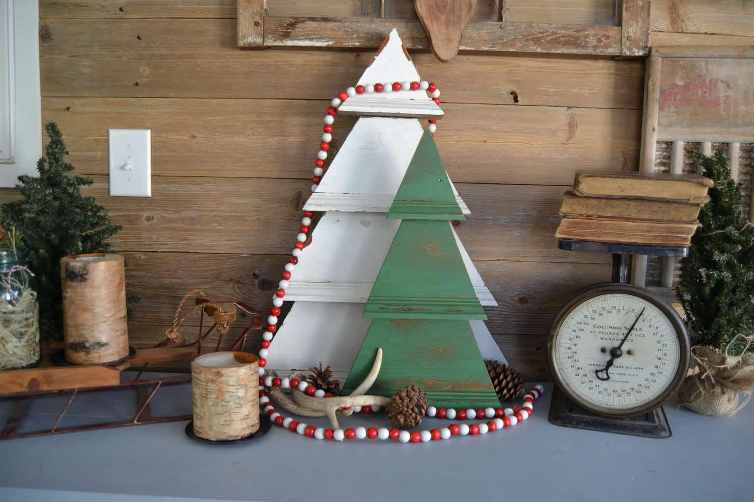 Rustic christmas decorations diy - Pin This Diy Rustic Christmas Tree Decoration