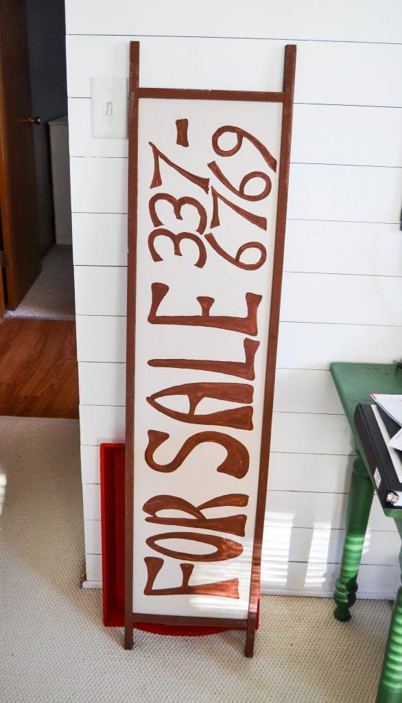 DIY Farmhouse Office Sign