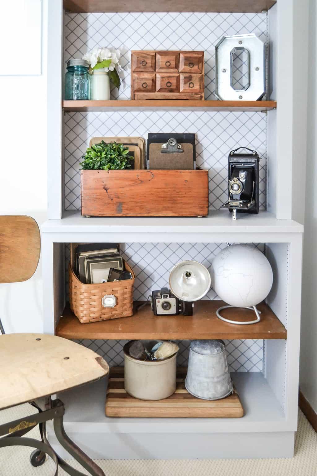 Pin This · Bookshelf Makeover   Looking To Make Over A Plain Bookshelf To  Make It Look More Custom