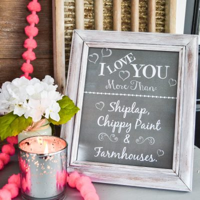 Valentine Printables With A Farmhouse Vibe