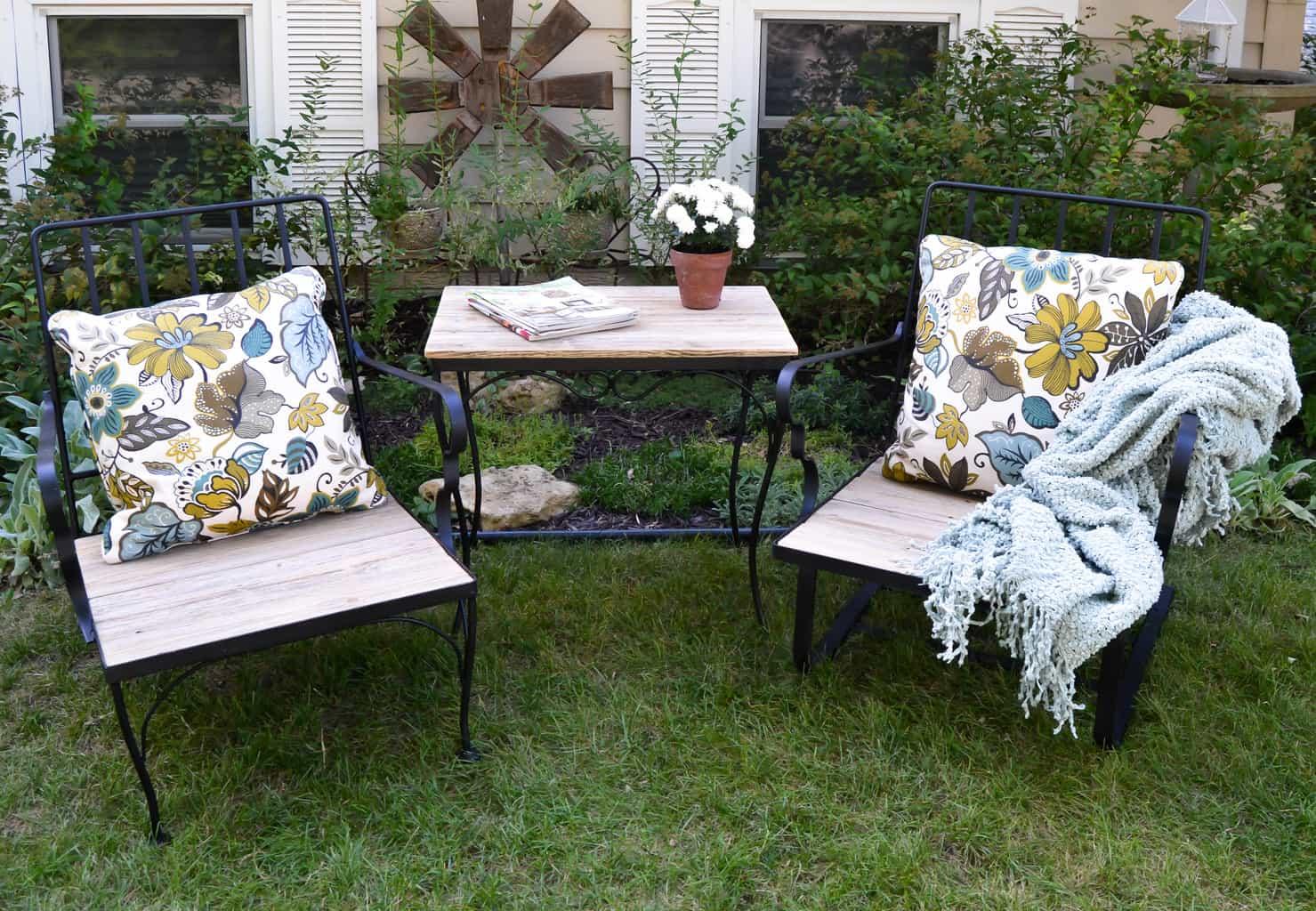 Diy Outdoor Furniture Diy Outdoor Furniture Makeover My Creative Days