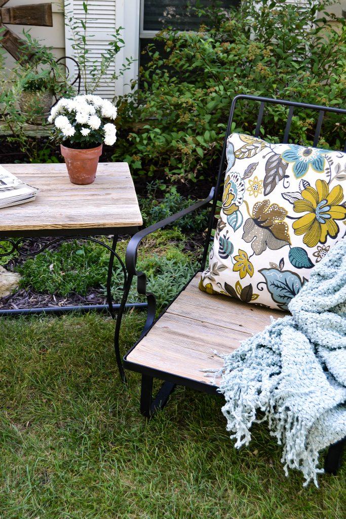 DIY Outdoor Furniture Makeover
