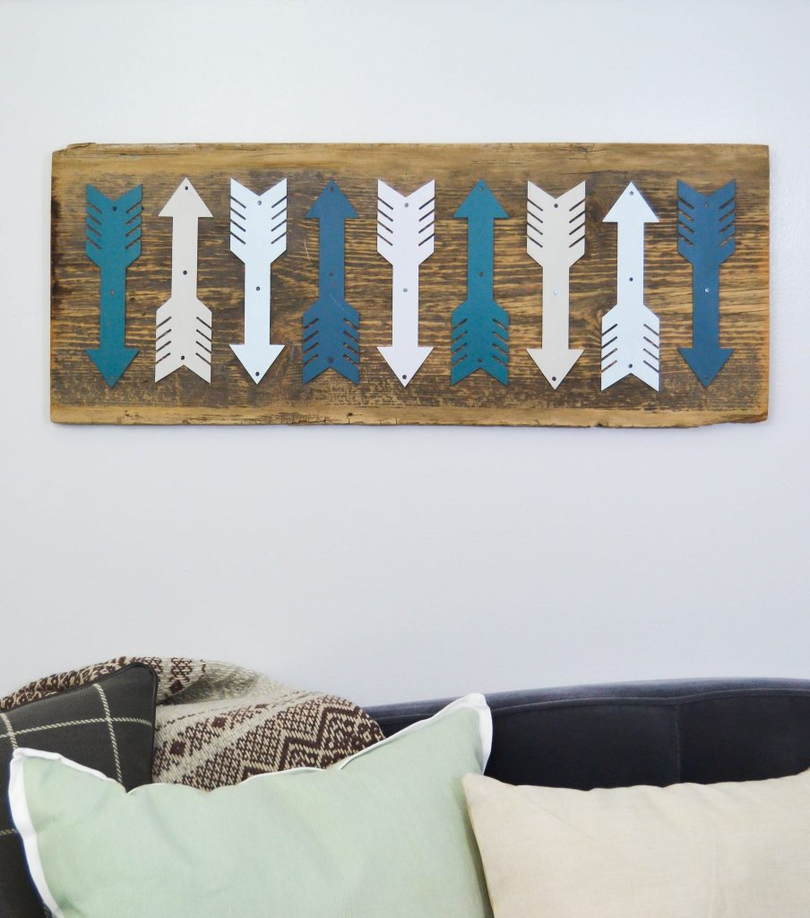 Repurposed Arrow Art