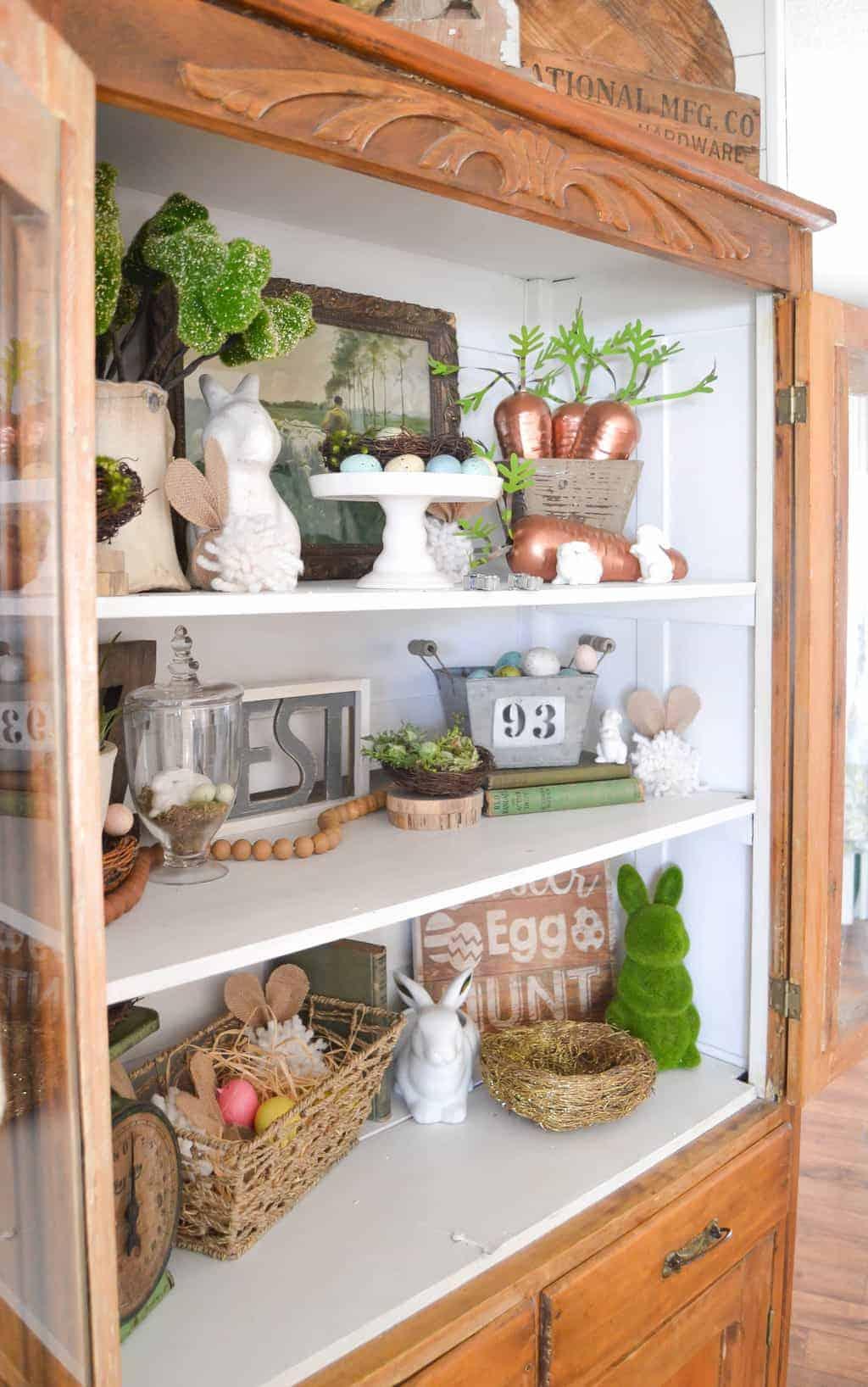 spring decor creative hutch porch days ways adding easy spent run down mycreativedays