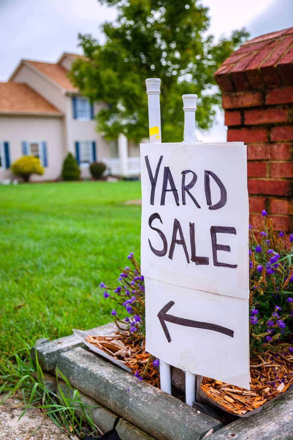 Want to have a yard sale, but don't know where to start ...