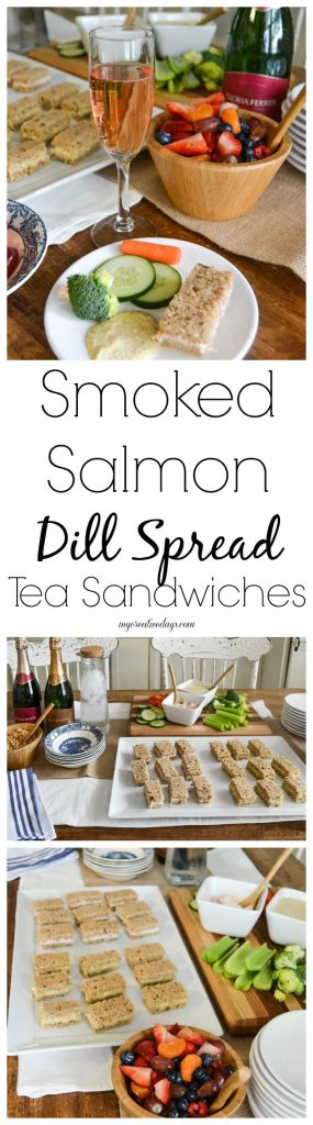 Smoked Salmon Dill Spread - Looking for an easy and versatile recipe to prepare for your next party? This Smoked Salmon Dill Spread is exactly what you need.