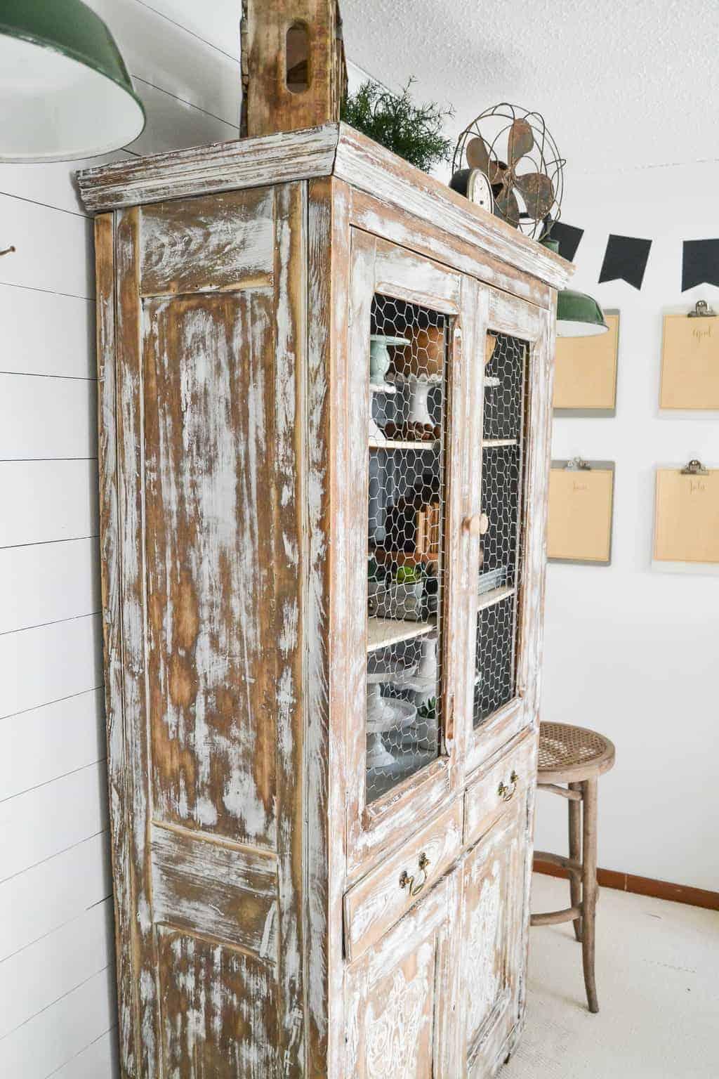 Diy Farmhouse Hutch Makeover My Creative Days