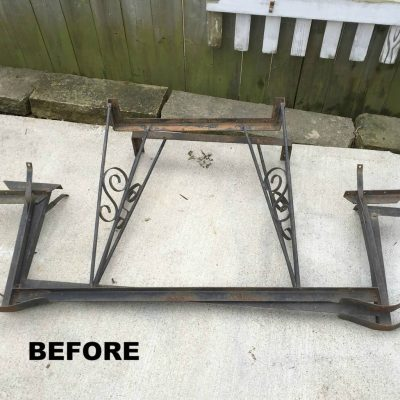 Curbside Picnic Table Makeover