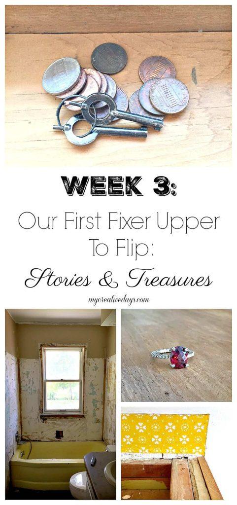 Our Fixer Upper Flip House: Stories & Treasures