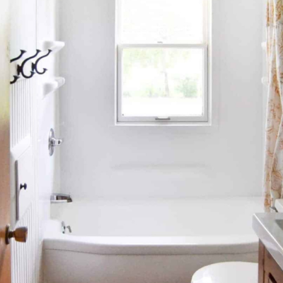 How To Paint A Bathtub Easily & Inexpensively!
