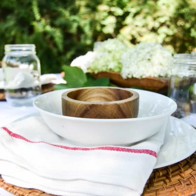 Summer Tablescape – Making Alfresco Dining Special