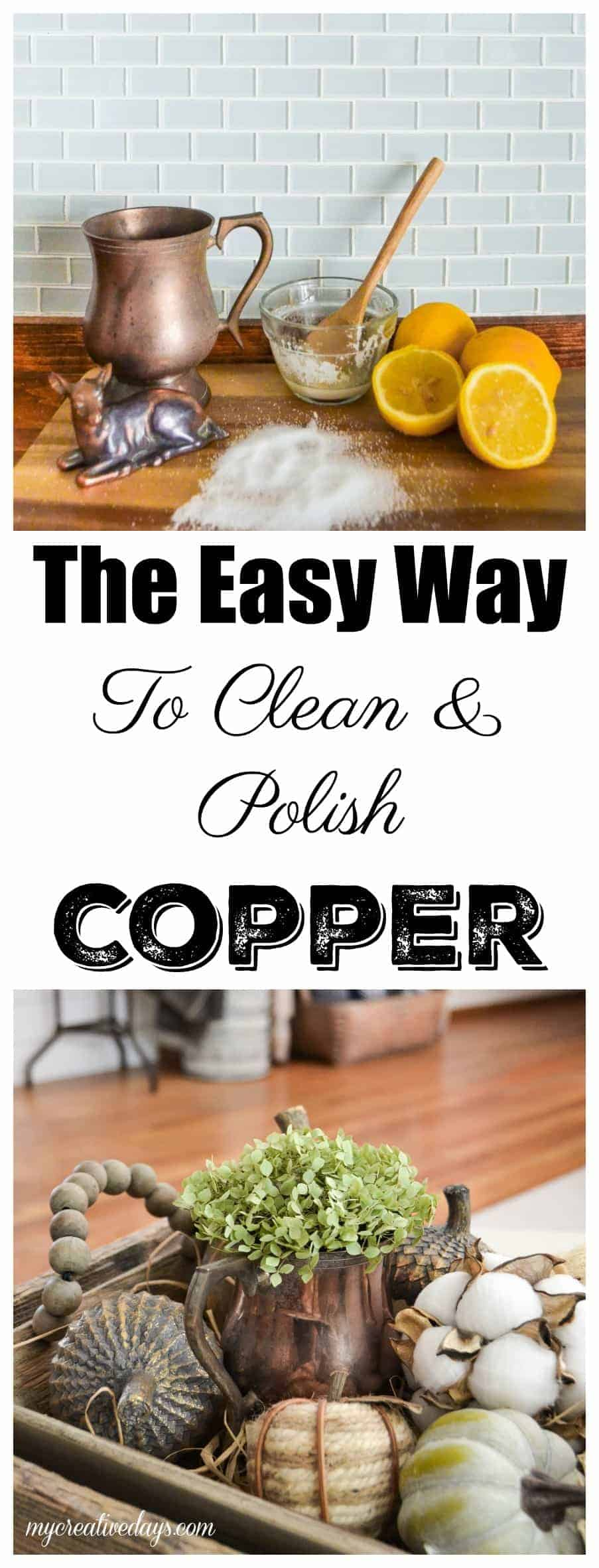 The Easy Way To Clean And Polish Copper